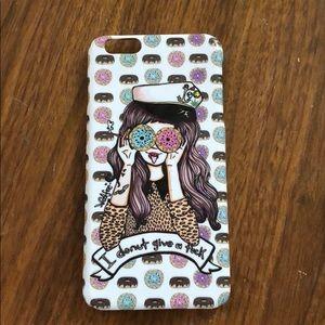 "Accessories - iPhone 6 Plus case ""I donut give a f**k"""